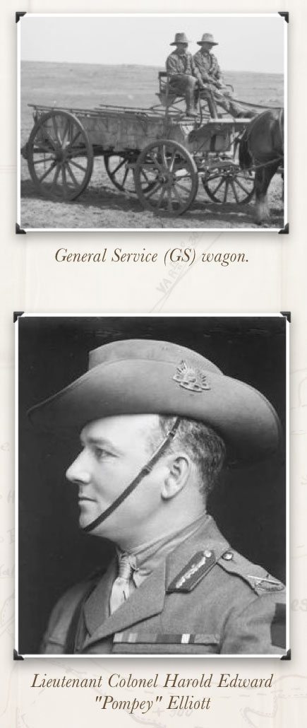 Service Waggons - Pompey Elliott
