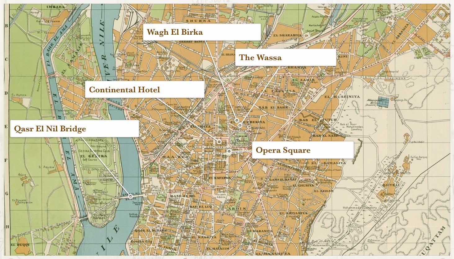 Cairo locations