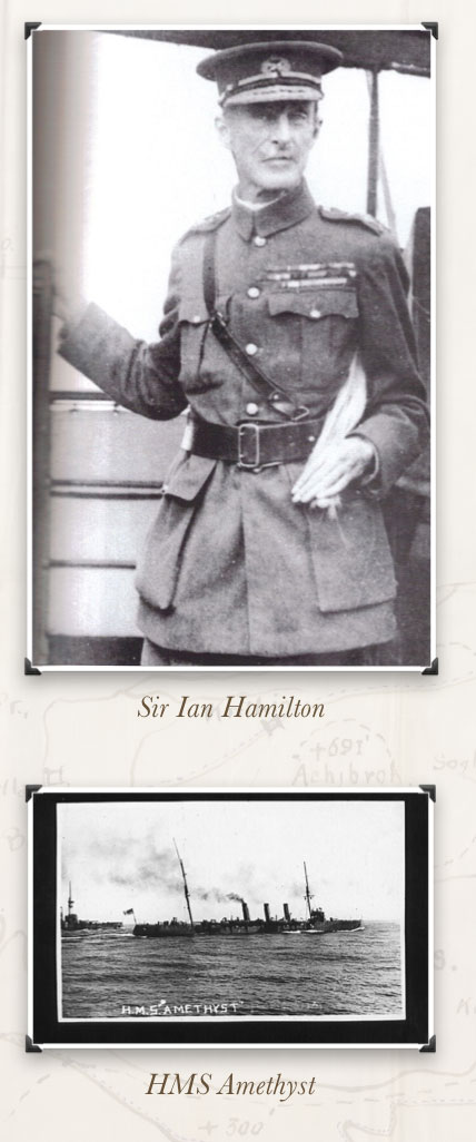 Ian Hamilton - HMS Amethyst