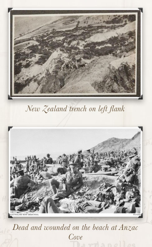 Gallipoli - NZ left flank