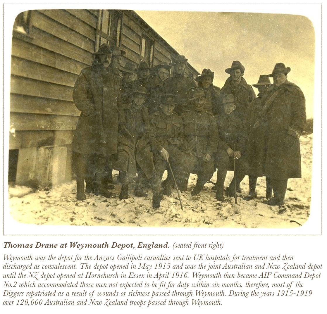 Weymouth Depot England